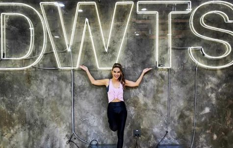 Selling Sunset star Chrishell Stause poses for a Sept. 7 Instagram post. Stause, and 14 other celebrities and athletes, will compete for the Season 29 Dancing With the Stars title on Monday, Sept. 14.