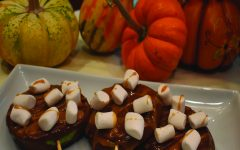 Chocolate caramel apples, prepared by Wildcat Business Manager and foodie Amber Kim.