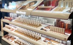 Selena Gomez's new makeup line at the Brea Mall Sephora. According to Gomez, the beauty line celebrates