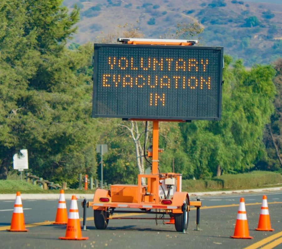 Voluntary evacuations escalated to mandatory evacuations in some Brea neighborhoods on Oct. 26 due to the Blue Ridge Fire. Evacuation orders were lifted on Oct. 28.