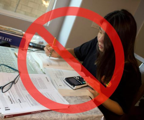 Colleges and universities across the U.S., including the University of California system, are not requiring 2021 applicants to submit ACT or SAT scores for admission. Students like junior Clara Lee (pictured), can focus on extracurriculars and other components of the applications, instead of studying for the exams.