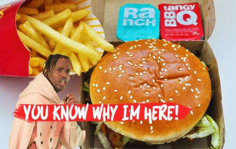 Astroworld artist Travis Scott partnered with McDonald's for a $6