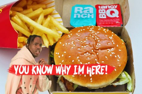 Astroworld artist Travis Scott partnered with McDonald