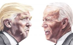 Donald Trump and Joe Biden squared off in the 2020 presidential election. Biden emerged the victor, with 306 electoral college votes, to Trump's 232.