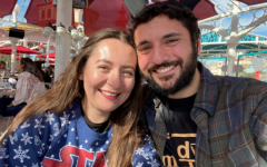 Paul Ayers and his fiancé, Stephanie Vidal, at Disney California Adventure, celebrating Star Wars day on May 4, 2019. Ayers joins the BOHS science department after spending four years in the Montclair Unified School District.