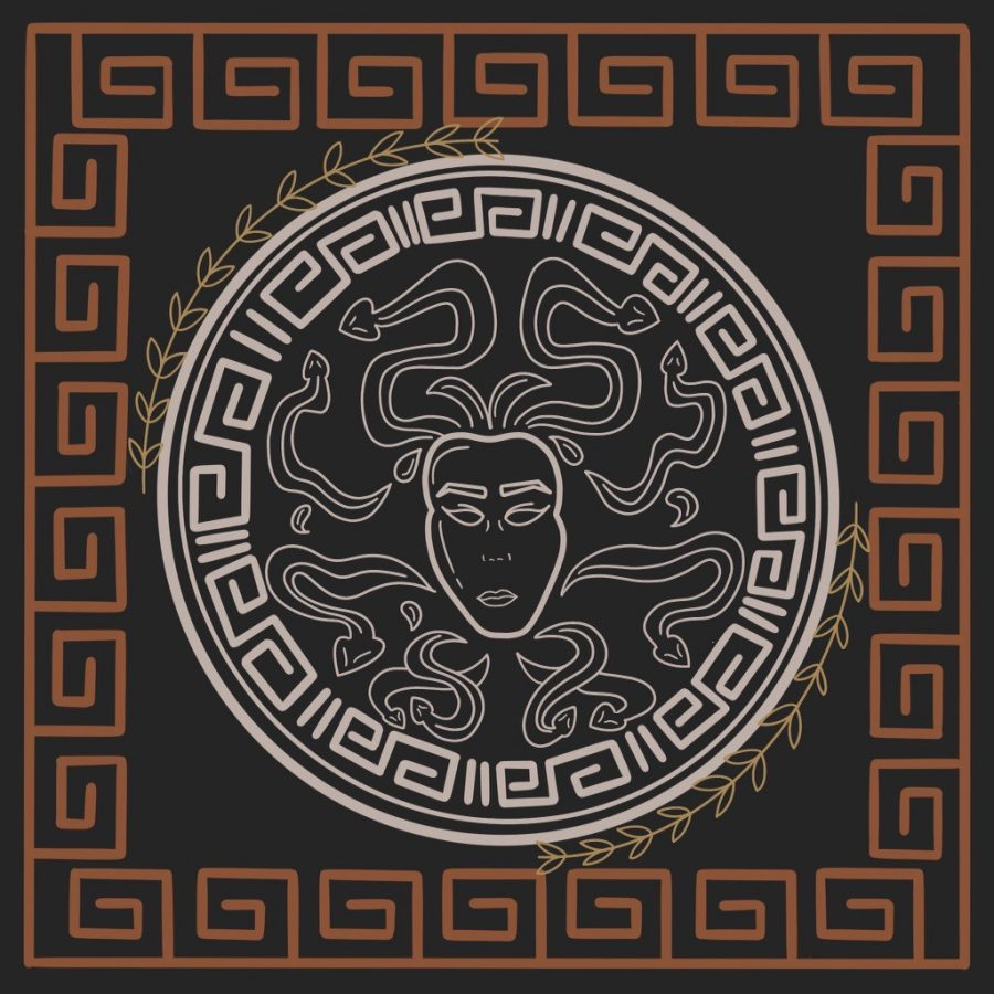 As the descendant of Perseus, slayer of Medusa, Lore's family bears the mark of the Gorgon; most Greek legends depict Gorgons as creatures with hair made of living, venomous snakes that are capable of turning anyone into stone with one look.