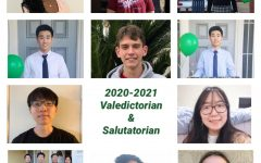 (clockwise from top left): Sophia Akinboro, Wilton Diep, McKenna Grigoli, Richard Kim, Tristan Montera, William Kim, Ethan Oh, Rebecca Park, Shannon Park, Marc Thai, Josh Yoon, and Jackie Piepkorn have been recognized as Valedictorian and Salutatorian for the Class of 2021. The designations are awarded to students with the highest (Valedictorian) and second-highest (Salutatorian) grade point average in their graduating class.