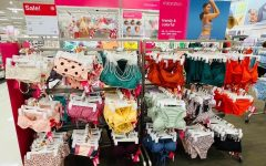 The Brea Target displays some of their newest 2021 swimwear pieces available now.