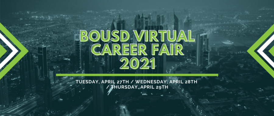 The+inaugural+Virtual+Career+Fair+will+take+place+from+Tuesday+to+Thursday+on+a+Zoom+webinar+and+through+YouTube+videos.+The+event%2C+organized+by+Doyon+Kim%2C+sophomore%2C+and+counselor+Megan+Jansen%2C+will+help+students+learn+about+various+careers.