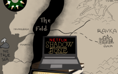 The world of Shadow and Bone. The series is a book-to-show adaptation that combines events and characters from two different book series into one eight-episode Netflix series.